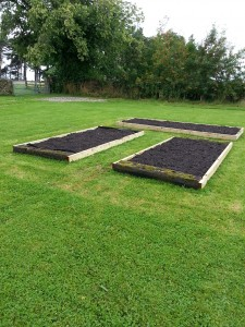 Raised bed building