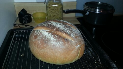 Getting the hand of bread making