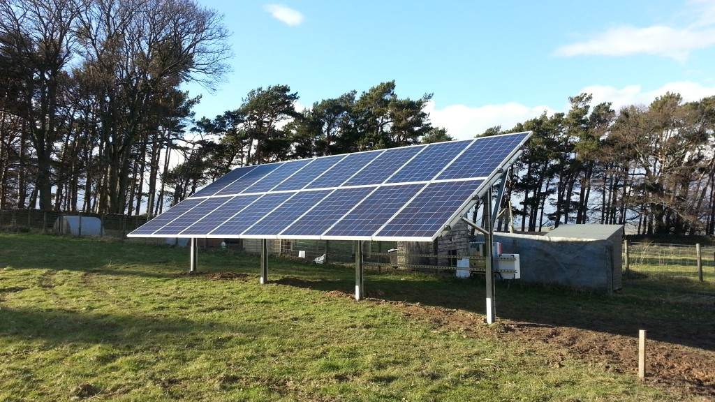 Solar PV up and running