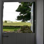 View from kitchen door